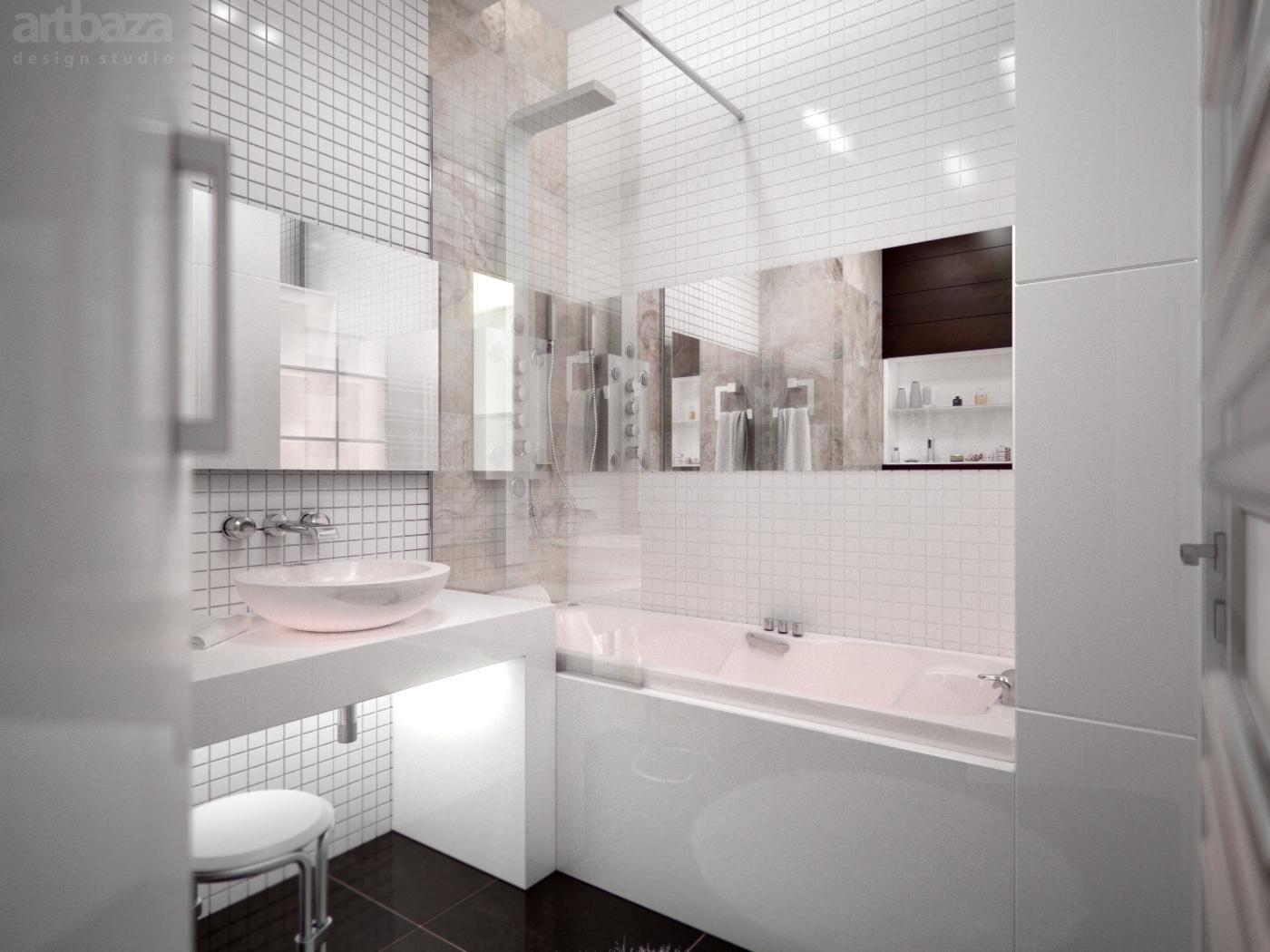 Оформление ванной комнаты в 7 кв м