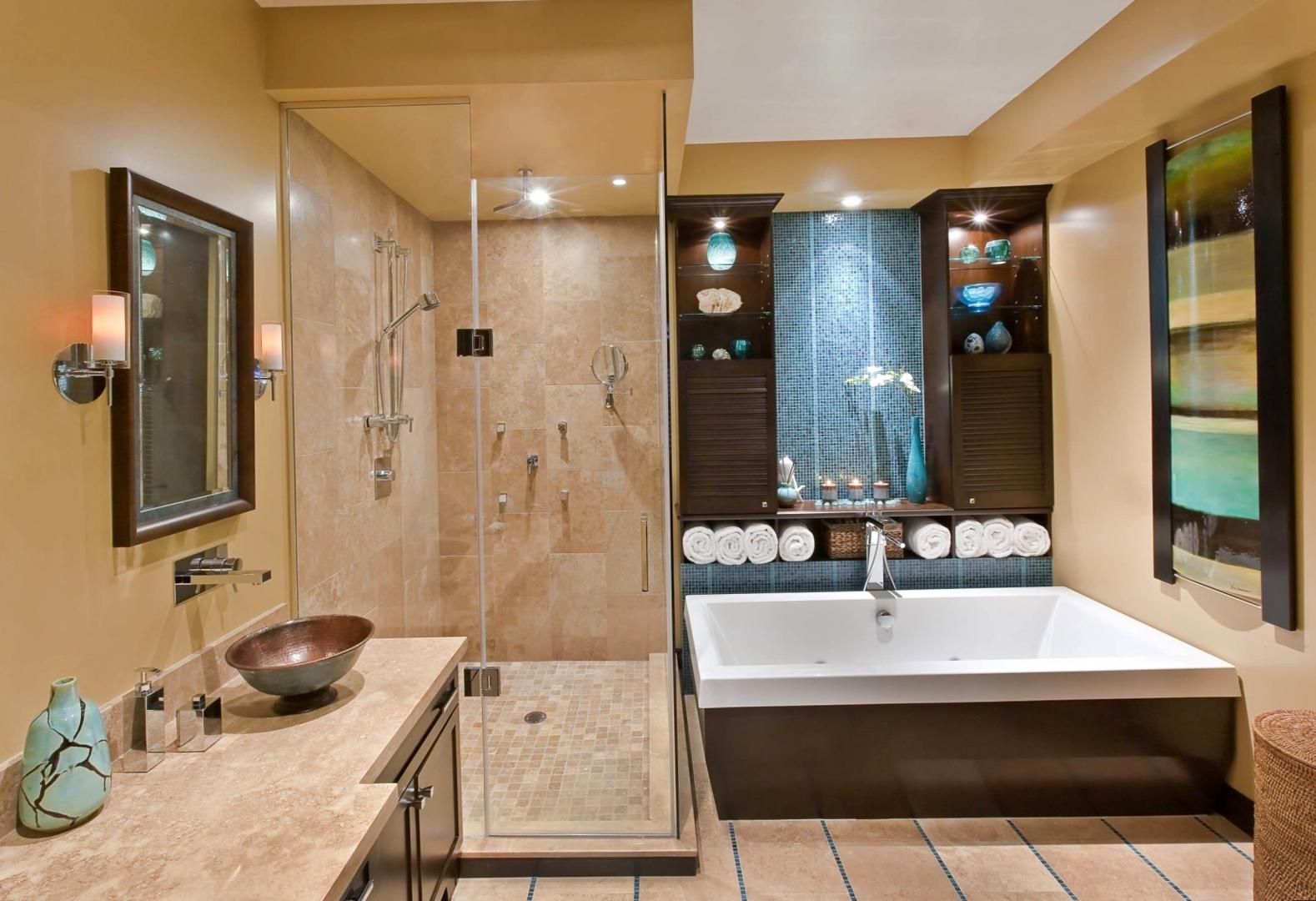 Дизайн ванной комнаты 9 кв. м.