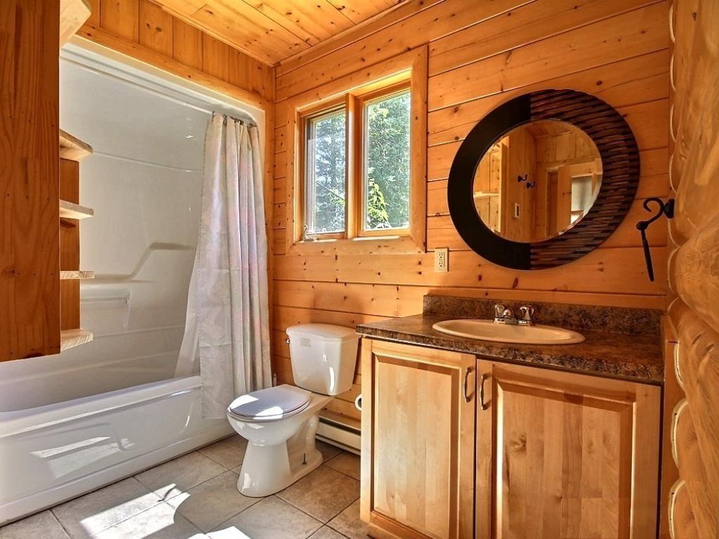 Ванная комната своими руками в деревянном доме фото